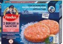 Burger di salmone Findus 170 g
