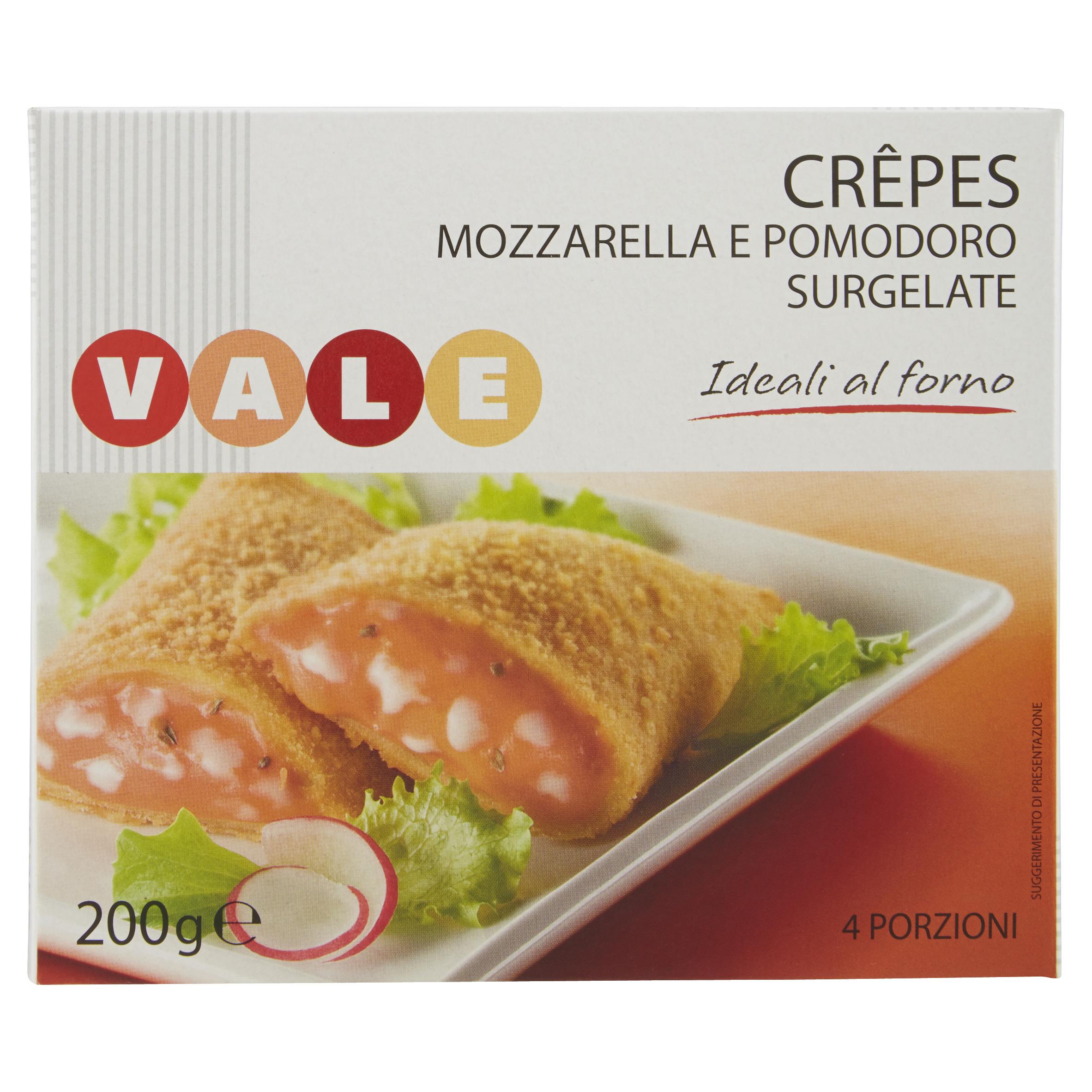 CREPES MOZZAREL/POMODORO GR200 VALE
