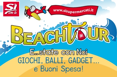 SI CON TE BEACH TOUR 2018 - #SICONTETOUR