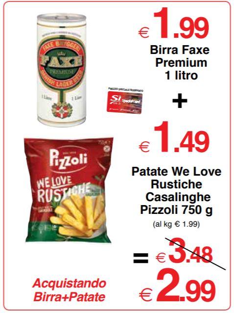 Patate We Love Rustiche Casalinghe Pizzoli 750 g