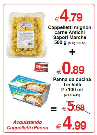 Cappelletti mignon carne Antichi Sapori Marche 500 g