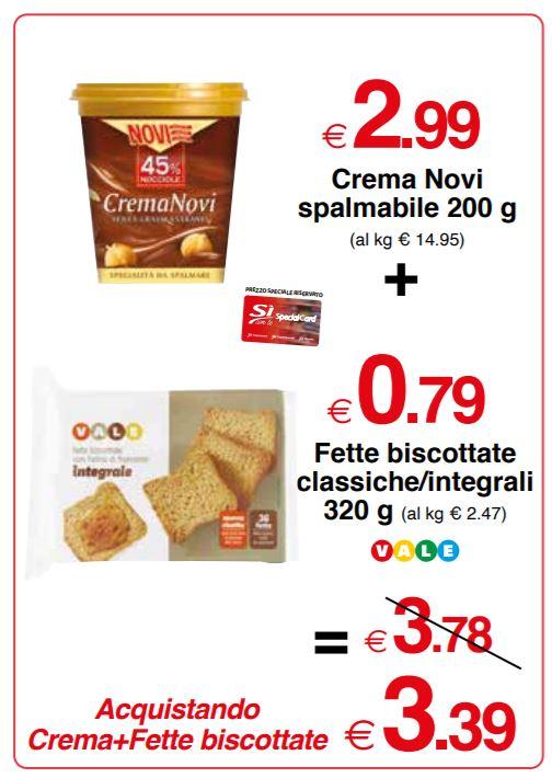 Fette biscottate classiche/integrali Vale 320 g