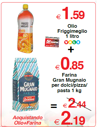 Farina Gran Mugnaio per dolci/pizza/pasta 1 kg