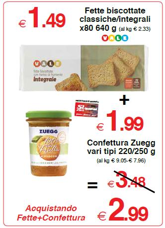 Confettura Zuegg vari tipi 220/250 g