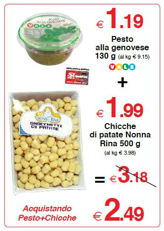 Pesto alla genovese Vale 130 g