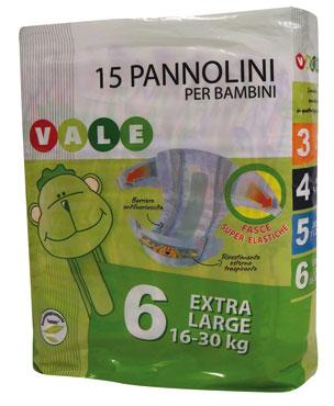 PANNOLINI BABY JUNIOR X18 VALE