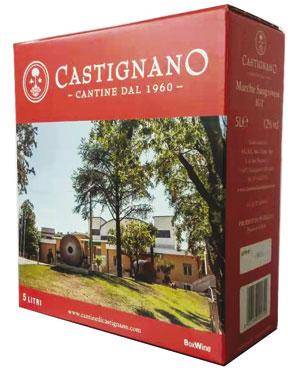 Sangiovese/Trebbiano IGT Marche Cantine Castignano Bag in Box 5 l