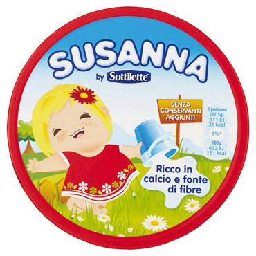 Formaggini Susanna 8 x 140 g