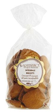 Biscotti Artebianca vari tipi 300/400 g
