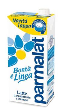 Latte Parmalat parzialmente scremato uht 1 l