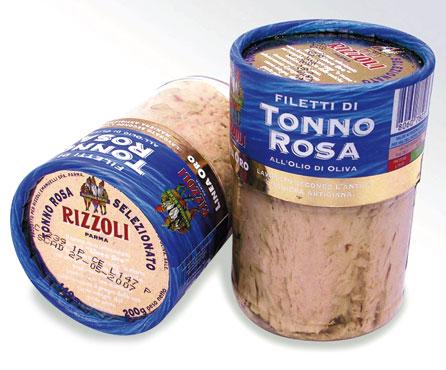 Filetti tonno rosa v.v. Rizzoli 200 g
