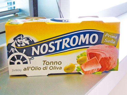 Tonno all'olio di oliva/al naturale Nostromo 2 x 160 g