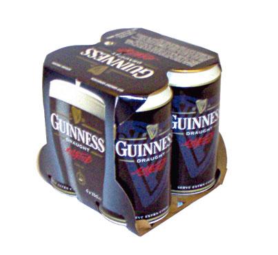 Birra Guinness lattina 4 x 33 cl