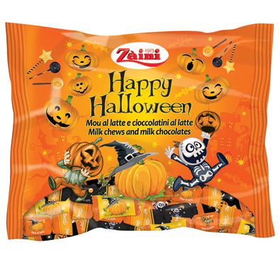 Caramelle/Mallows/Choco Halloween Zaini 225/150/125 g