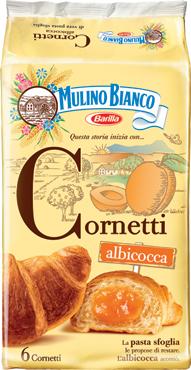 Cornetti farciti Mulino Bianco vari gusti 300 g