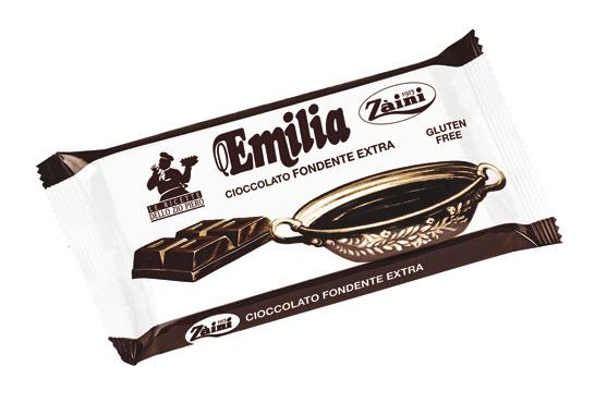 Tavoletta cioccolato fondente Emilia Zaini 1 kg
