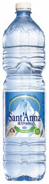 Acqua minerale Sant'Anna vari tipi 1,5 l