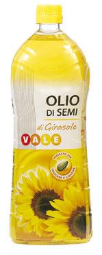 Olio di semi di girasole Vale 1 l