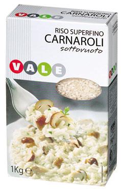 RISO CARNAROLI S/V KG.1  VALE