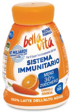 Bella Vita probiotic vari gusti drink 200 ml