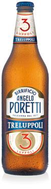 Birra Poretti 3 luppoli bottiglia 66 cl