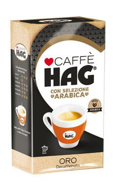 Caffe' Hag classico/espresso/oro 250 g
