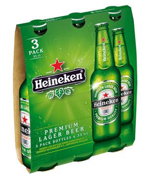 Birra Heineken/Heineken zero 3 x 33 cl