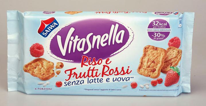 Frollini Vitasnella vari tipi 250/270 g