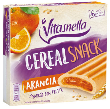 Vitasnella snack arancia/prugna 162 g