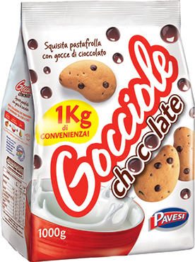 Biscotti Gocciole Pavesi 1 kg