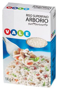 RISO ARBORIO S/V KG.1  VALE