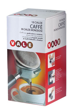 Cialde Caffe' espresso x18 Vale 126 g