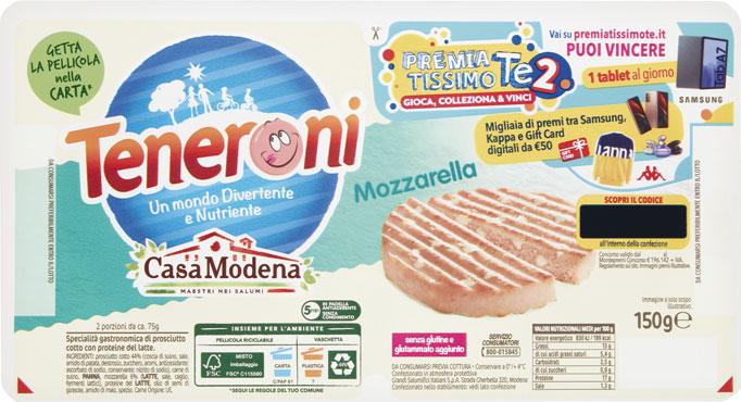 Tenerone Casa Modena vari tipi/gusti 150 g