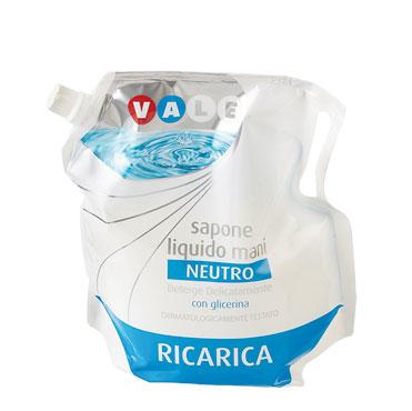 Ricarica Detergente Liquido Neutro Vale 1 l