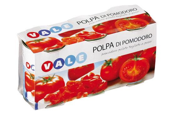 POLPA POMODORO GR.400X3  VALE