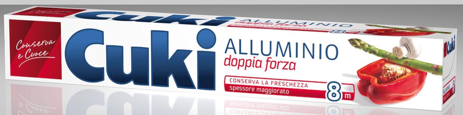 Alluminio Cuki 8 mt