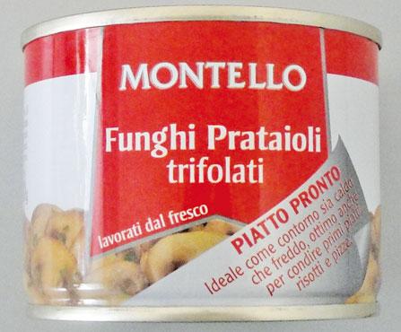 Funghi Champignon trifolati Montello 180 g