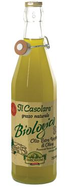 Olio evo Il Casolare grezzo/100% Ita/Bio 0,75/1 l