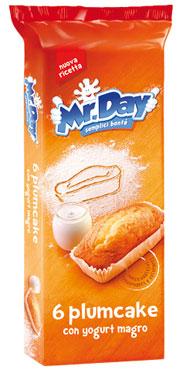 Plumcake Mr. Day Vicenzi x 6 190 g