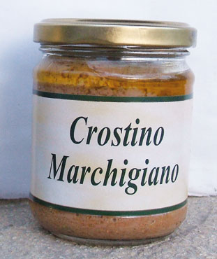 Crostino marchigiano Acqualagna Tartufi 180 g