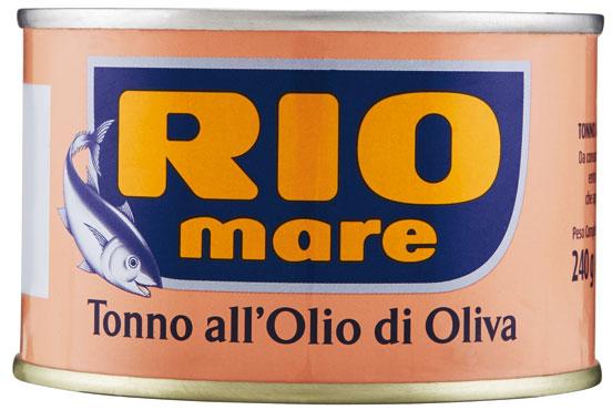 Tonno Rio Mare all'olio di oliva 240 g
