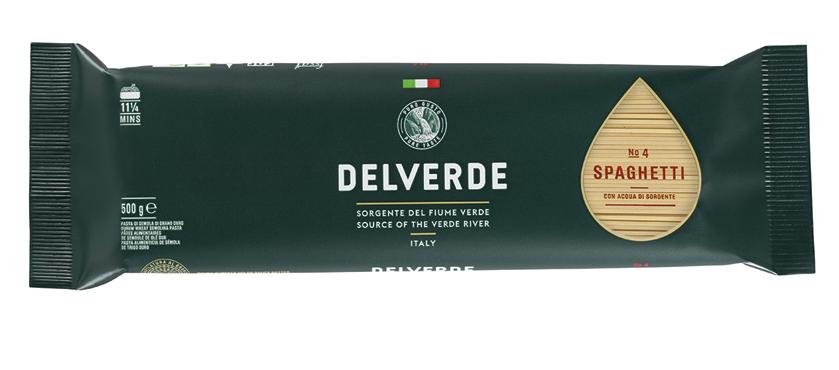 Pasta di semola Delverde formati classici 500 g