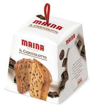 Panettone/Pandoro Cioccolotto/Prosecco Maina 750 g
