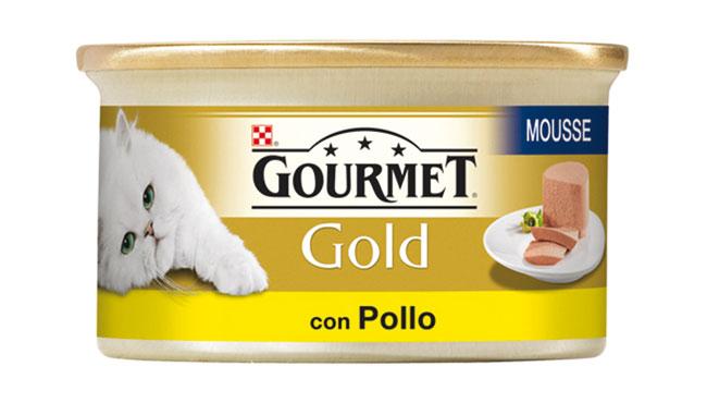Alimento umido gatto Gourmet Gold vari tipi 85 g