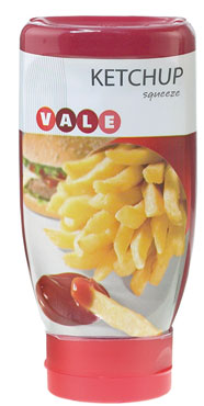 KETCHUP SQUEEZE ML.280  VALE