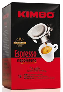 Cialde Kimbo x 18 vari tipi 125 g