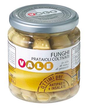 Funghi Coltivati olio semi Vale 280 g