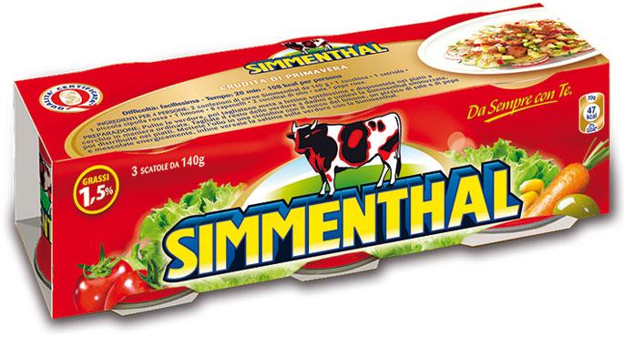 Carne Simmenthal 3 x 140 g