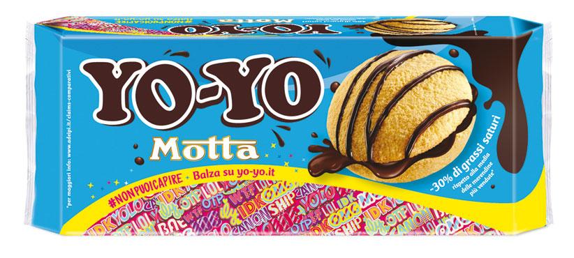 Merenda Yo-Yo Motta 210 g