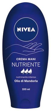 Crema mani Nivea vari tipi 100 ml